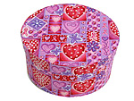 Breast Cancer Awareness Oval Fabric Boxes