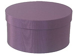 Amethyst Round Fabric Boxes