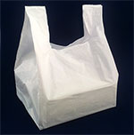 T-Shirt Handle Hi Density Poly Take Out Bag
