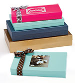Custom 2 Piece Rigid Apparel Boxes