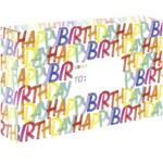 Rainbow Birthday Corrugated Mailers