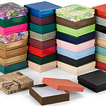 Fancy  Colored Special Order Jewelry Boxes