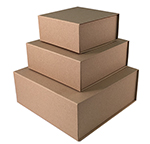 Premium Brown Kraft Magnetic Gift Boxes