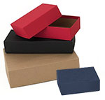 Kraft Set-Up Postal Mailers / Fully Telescoping Lid