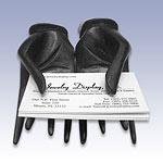 NW-3717 - BLACK HANDS CARD HOLDER