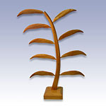 NW-3816 - NATURAL WOOD EARRING TREE