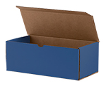 Royal Blue Shipping Boxes