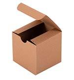 3x3x3 Folding Oatmeal Tuck Box