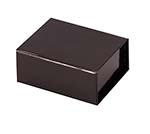 Black Glossy 2 5/8 x 2 x 1 3/16 Magnetic Boxes