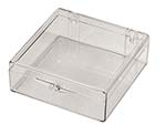 3 1/16 x 3 1/16 x1 - Rigid Hinged Plastic Boxes