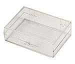 3  1/2 x 2 9/16 x1 - Rigid Hinged Plastic Boxes