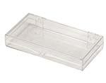 3 7/8 x 1 15/16 x 1/2 - Rigid Hinged Plastic Boxes