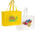 Custom Printed 80GSM NonWoven Shopping Bag