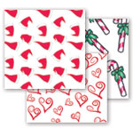 Christmas and Valentines Style Tissue