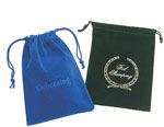 Rayo Velour Drawstring Jewelry and Gift Pouches