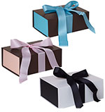 Ribbon Closure Gift Boxes