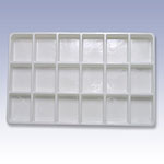 TPC18 - STACKABLE PLASTIC TRAYS