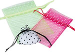 Swiss Dot Tulle Pouches
