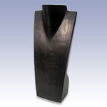 WN-16 - 16in. BLACK WOOD BUST