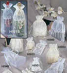 Wedding Organza Gift Pouches