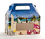 Horizontal Beach Design Window Candy Totes