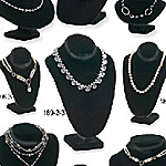 Imported Velvet Necklace Displays