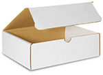ABC White Tuck Top Shipping Boxes