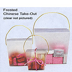 Plastic Chinese Take-Out Boxes