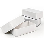 Phone Sized 2 Piece White Rigid Box