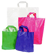 Ameritote Bright Colored Frosted Plastic Bags