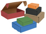 Gourmet EZ-Lock Colored Shipping Boxes