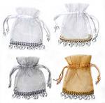 Sheer Beaded Bags