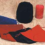 Round Gusset Velveteen Bags