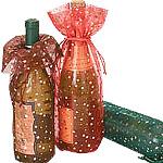 Star Print Wine Pouch