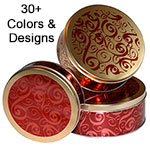 Round Cookie Tins by Ball