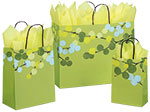 Berry Branches Paper Shopping Bags