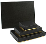 Black & Gold 2-Tone Candy Box