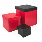 Colored High Walled 2 Piece Box w/Rigid Setup Lids