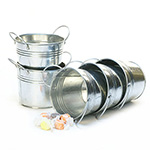 5 inch Galvanized Side Handle Pail