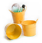 5 inch Goldenrod Side Handle Pail