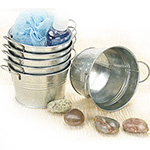 5 inch Mini Galvanized Tub Pails