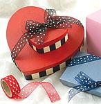 Cami Dot Sheer Nylon Ribbon
