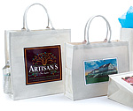 Custom Printed Canvas Shopping Bags