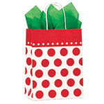 Cherry Dots Paper Shopping Bags