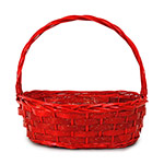 CK110 Oval Red Basket