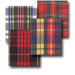 Monofilament Edge Classic Tartan Ribbon