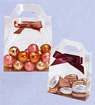 Clear Tote Style Candy Boxes