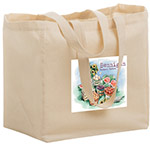Custom Printed 12x8x13 Cotton/Canvas Totes
