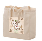 Custom Printed 13x5x13 Cotton/Canvas Totes