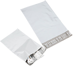 White Poly Self Seal Mailers